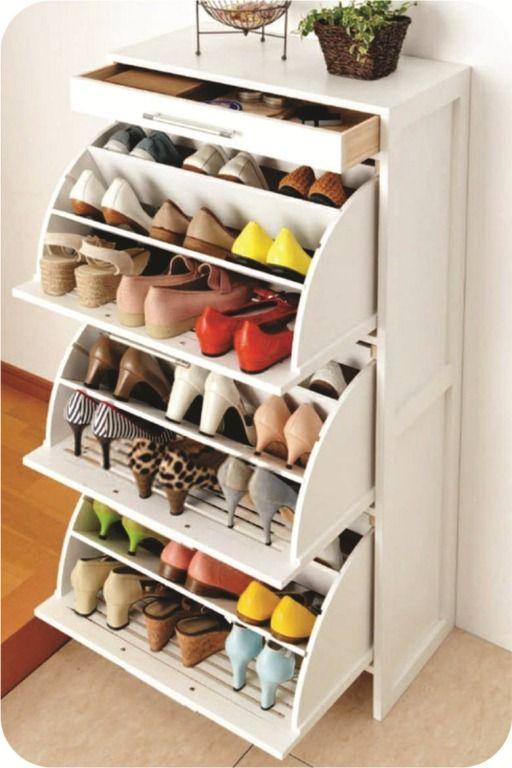 5 formas de organizar os sapatos