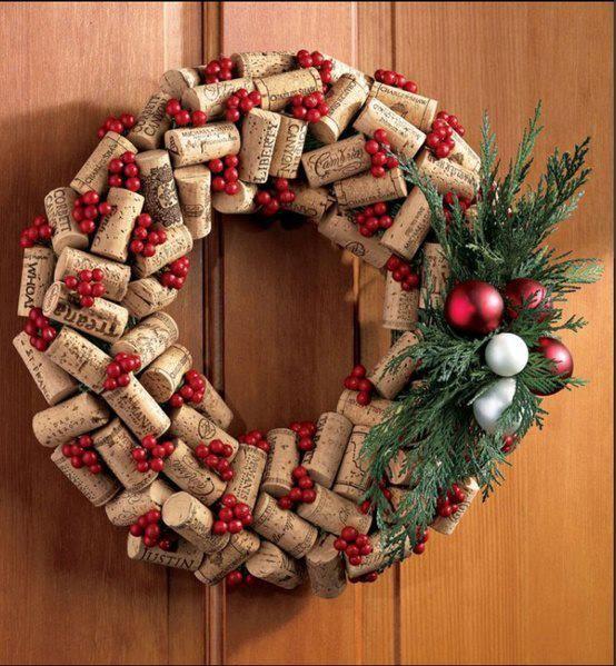 Como fazer guirlanda de Natal 5