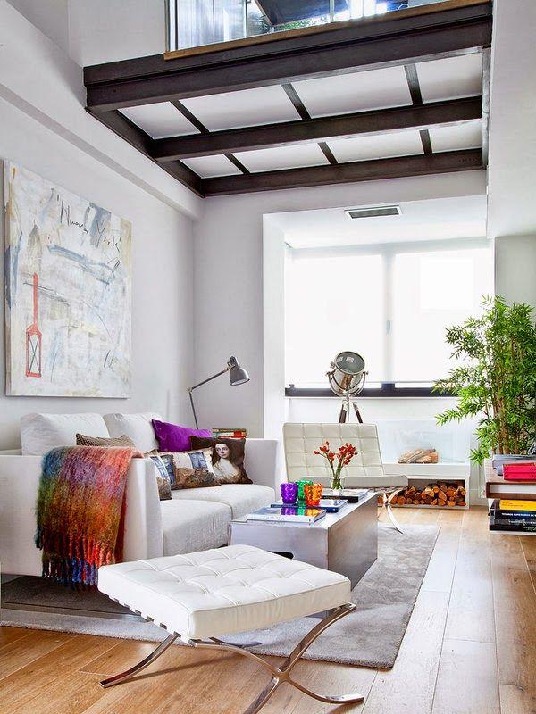 Apartamentos pequenos decorados 10