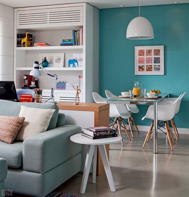 Apartamentos pequenos decorados 2