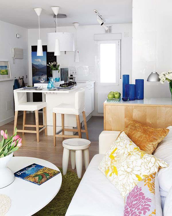 Apartamentos pequenos decorados for Como decorar mi departamento pequeno