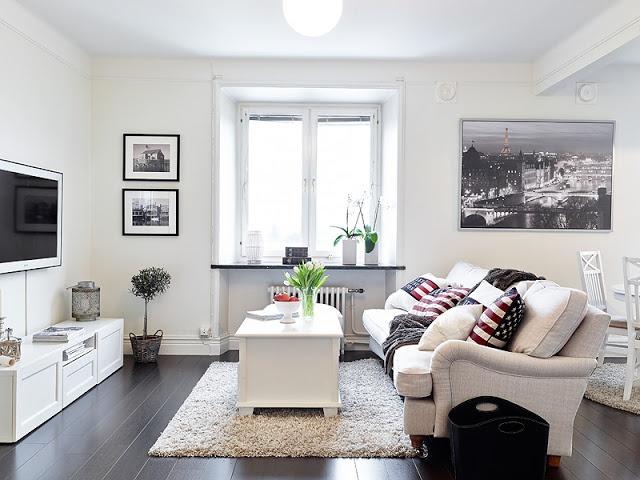 Apartamentos pequenos decorados 8