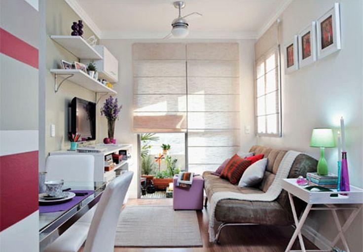 Apartamentos pequenos decorados 9