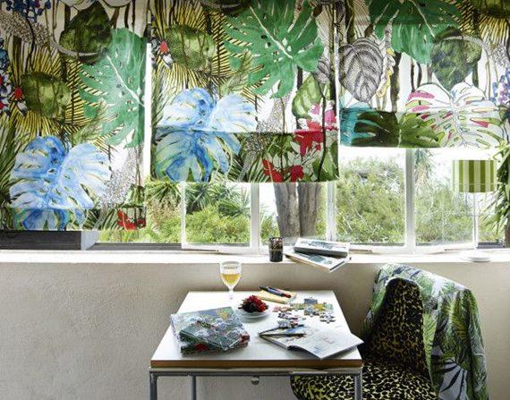 Como montar uma decoração tropical 5
