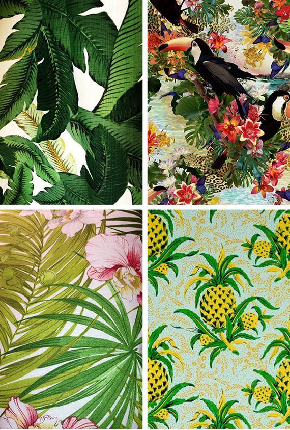 Como montar uma decoração tropical 6