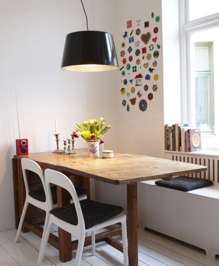 Decoração de sala de jantar pequena 6