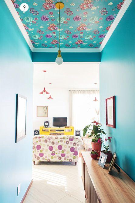 Papel de parede na decoração 6