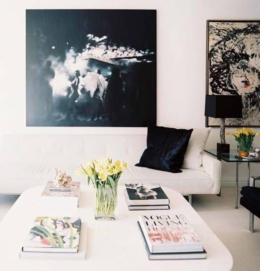 Sala em preto e branco 11