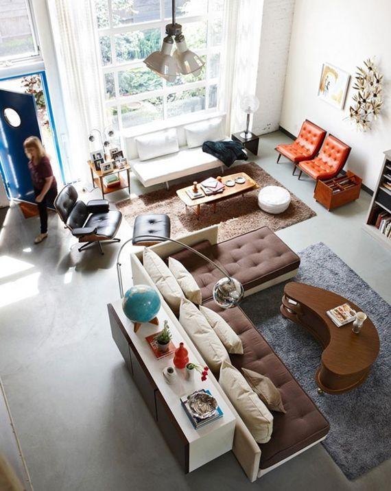 sofá de canto se encaixa perfeitamente na sala de estar ou ainda em