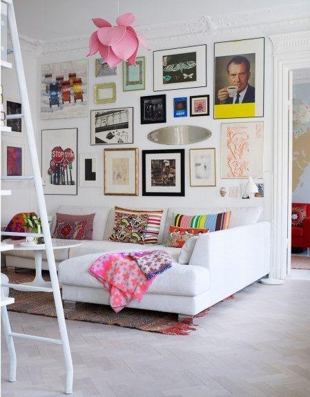 Sofá em L na decoração 8