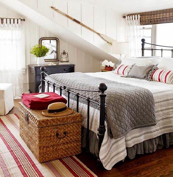 Como decorar os pés da cama 5