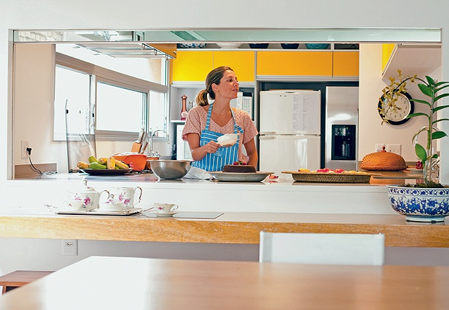 Cozinha com passa-prato 10