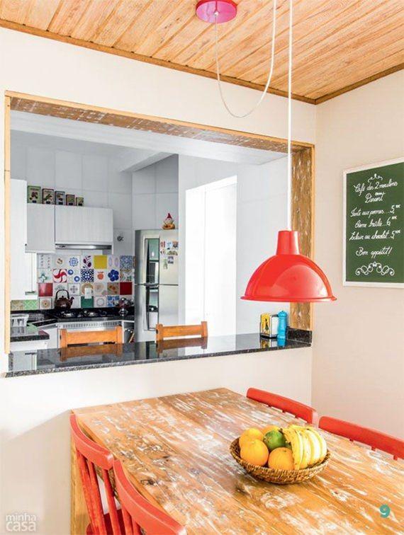Cozinha com passa-prato 2