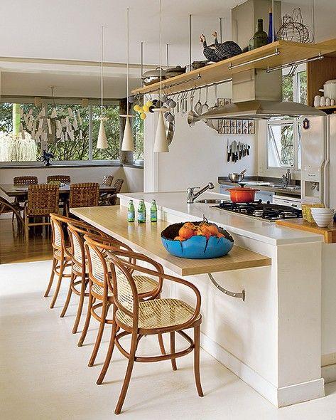 Cozinha e sala de jantar conjugadas 10