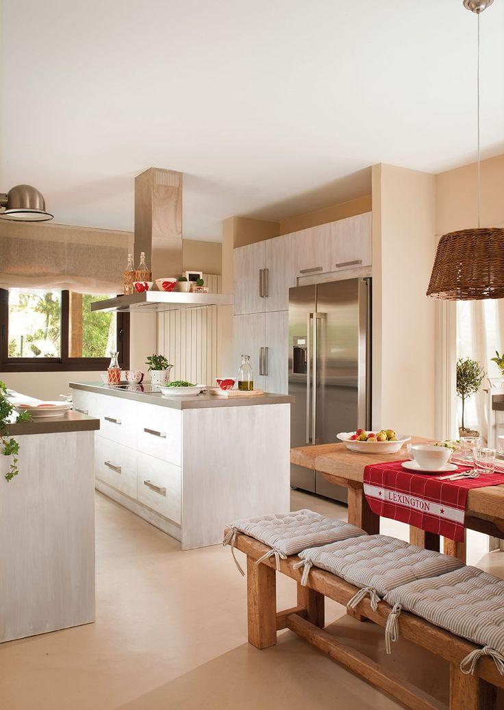 Cozinha e sala de jantar conjugadas 4