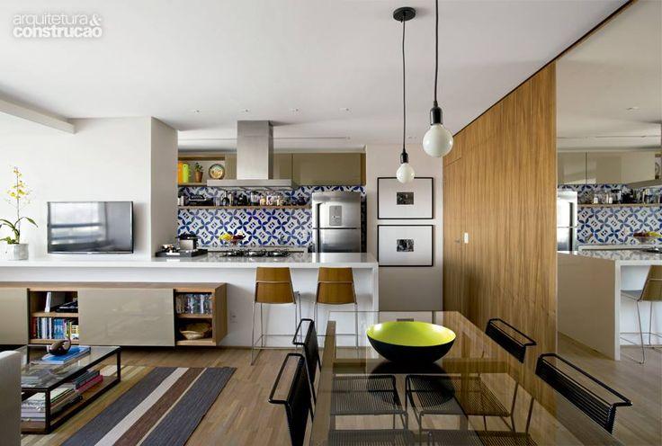 Cozinha e sala de jantar conjugadas 5