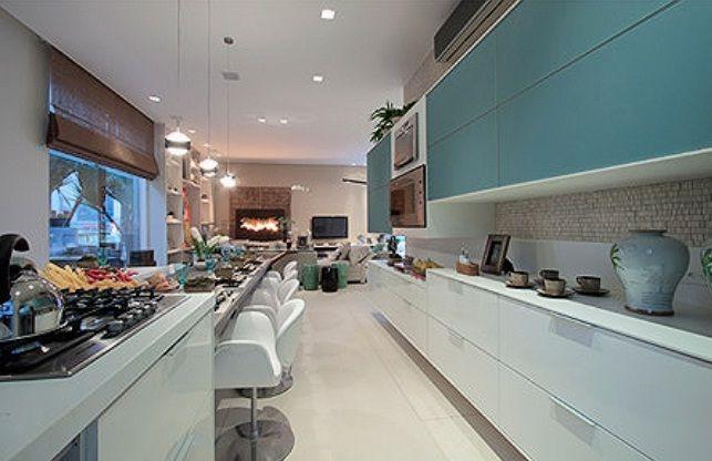 Cozinha e sala de jantar conjugadas 7