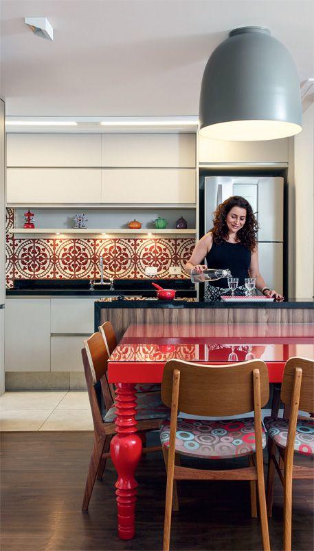 Cozinha e sala de jantar conjugadas 2