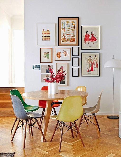 Sala De Jantar Na Cozinha ~ Mesa de jantar na decoração da sala ou da cozinha 4