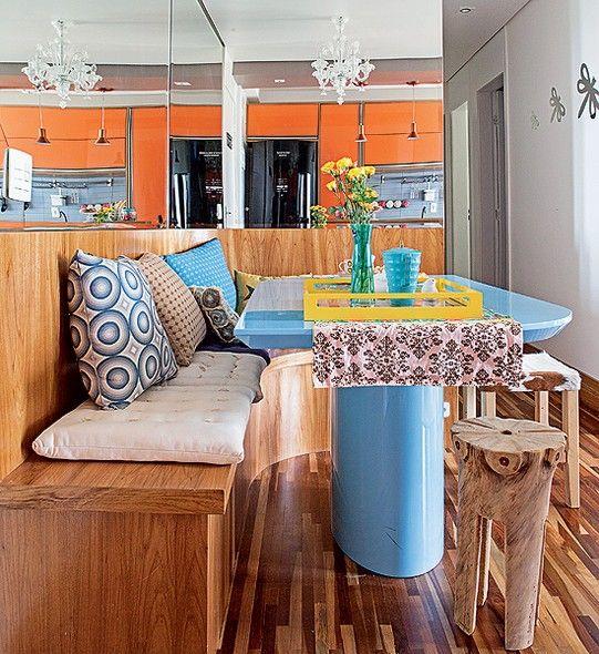 Mesa Para Sala De Jantar Com Banco ~ Mesa de jantar na decoração da sala ou da cozinha 5