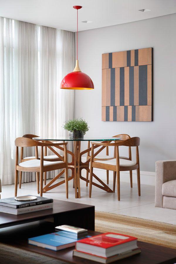 Mesa de jantar na decoração da sala ou da cozinha 8
