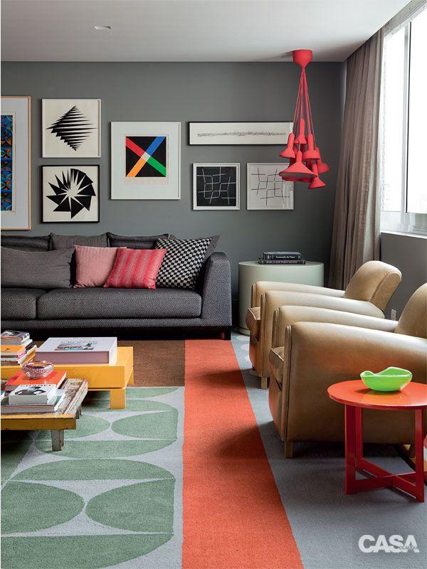 Inspiração de cores para sala de estar 2