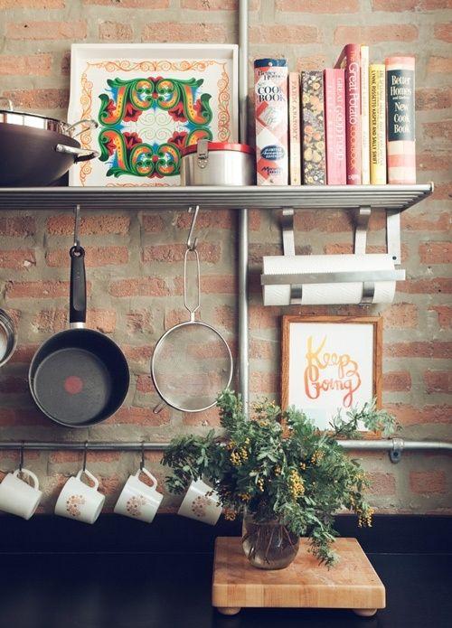 Cozinha sem armário 2