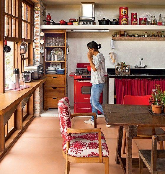 Cozinha sem armário 6