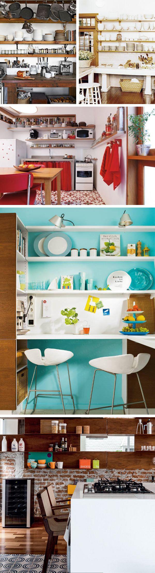 Cozinha sem armário 9
