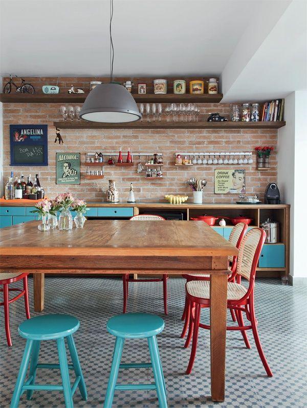 Cozinha sem armário