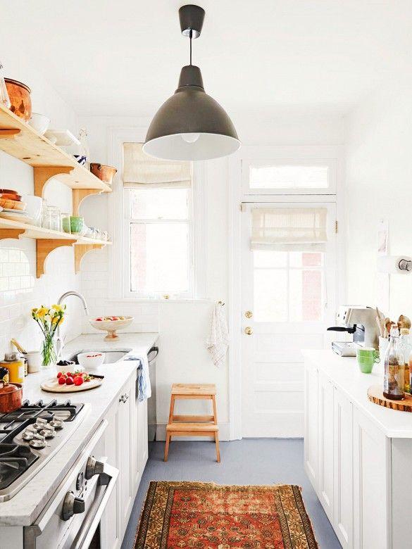 Cozinhas pequenas e inspiradoras 10