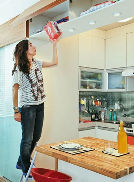 Cozinhas pequenas e inspiradoras 2