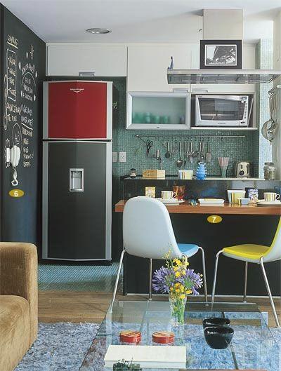 Cozinhas pequenas e inspiradoras 3