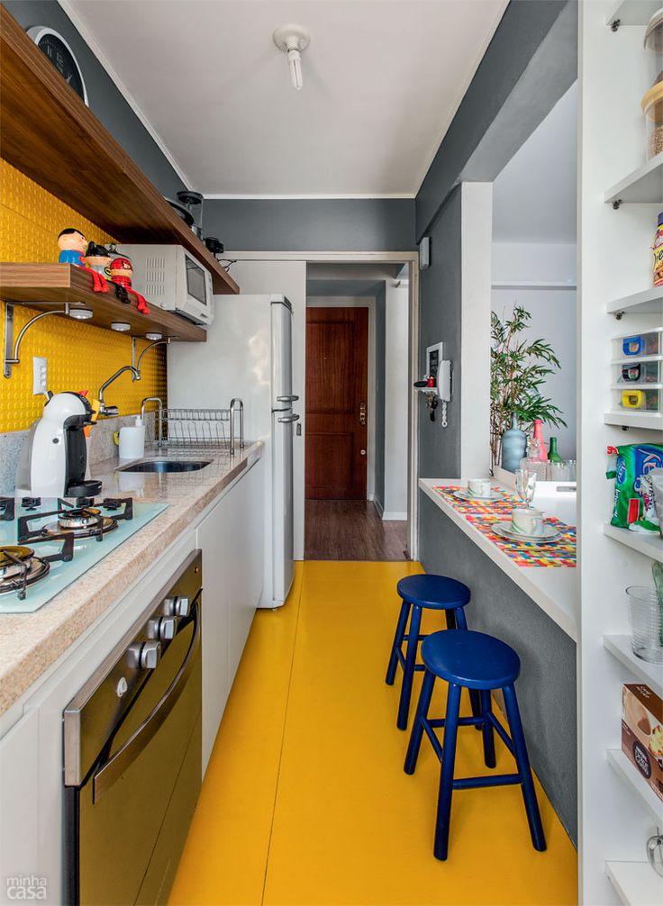 Cozinhas pequenas e inspiradoras 5