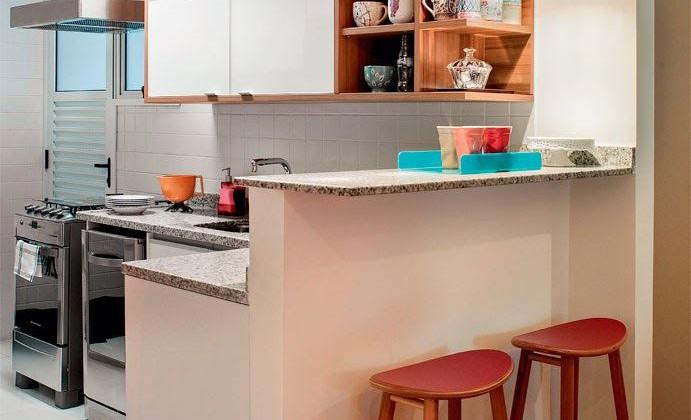 Cozinhas pequenas e inspiradoras