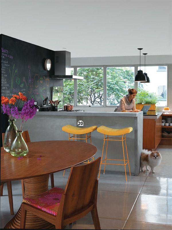 Cozinhas pequenas e inspiradoras 8