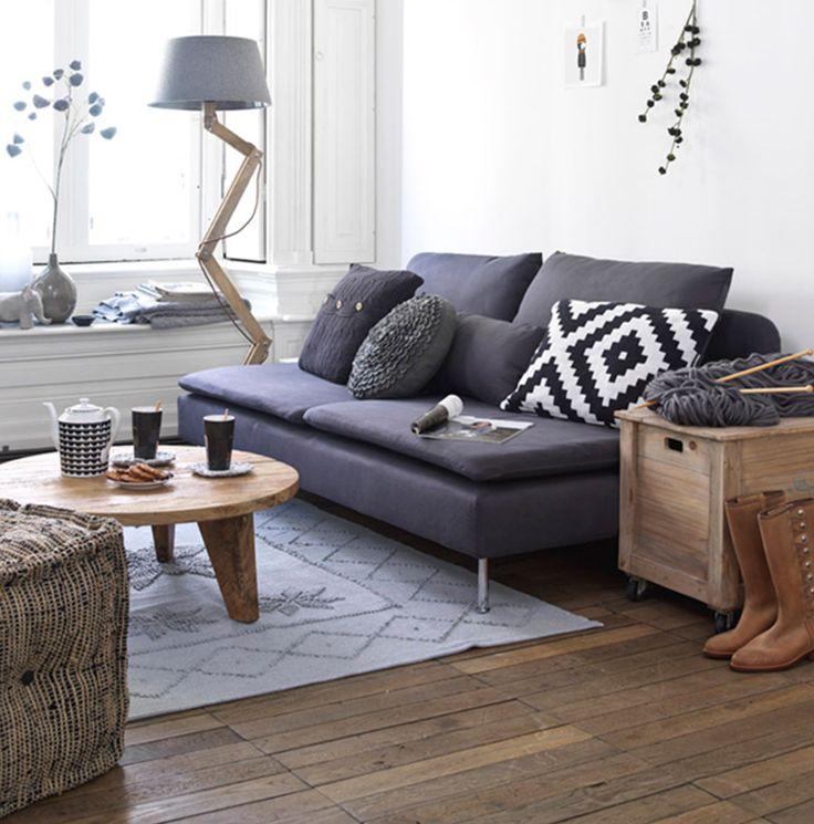 Modelos de sofás pretos 3