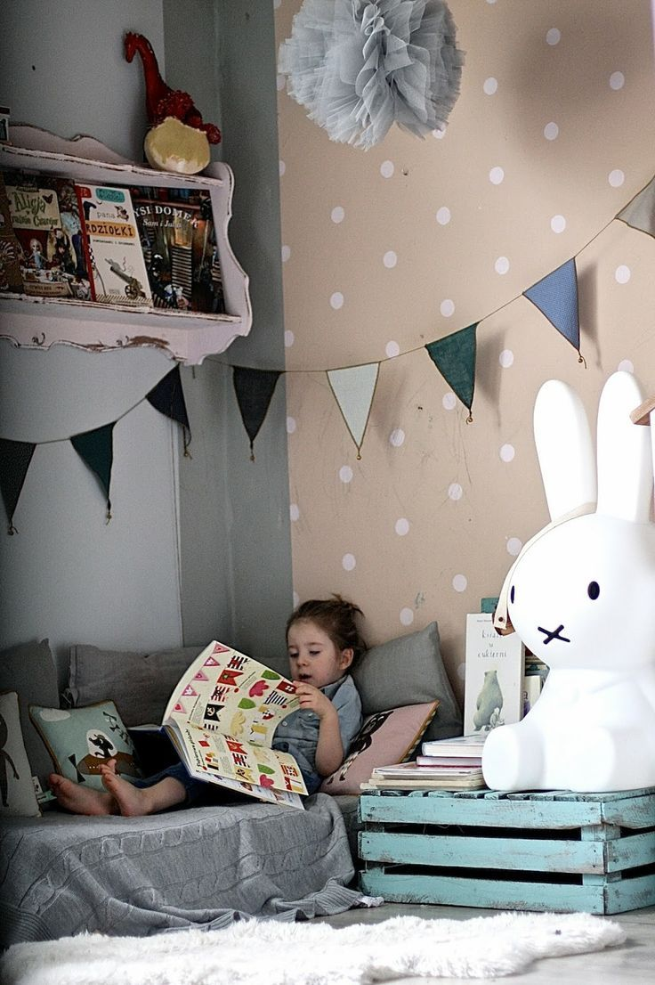 Cantinho de leitura decorado 11