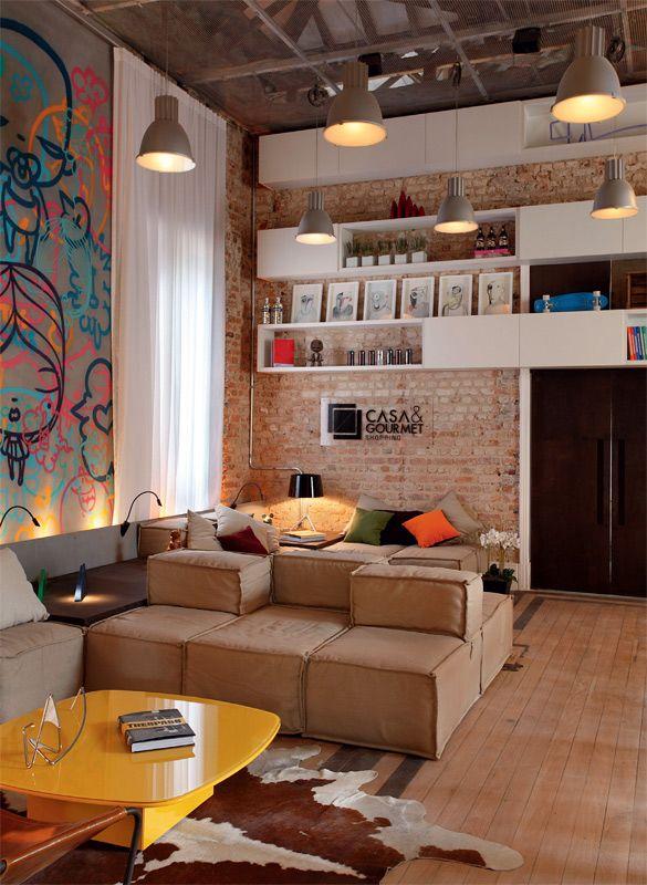 Como montar uma sala confortável 5