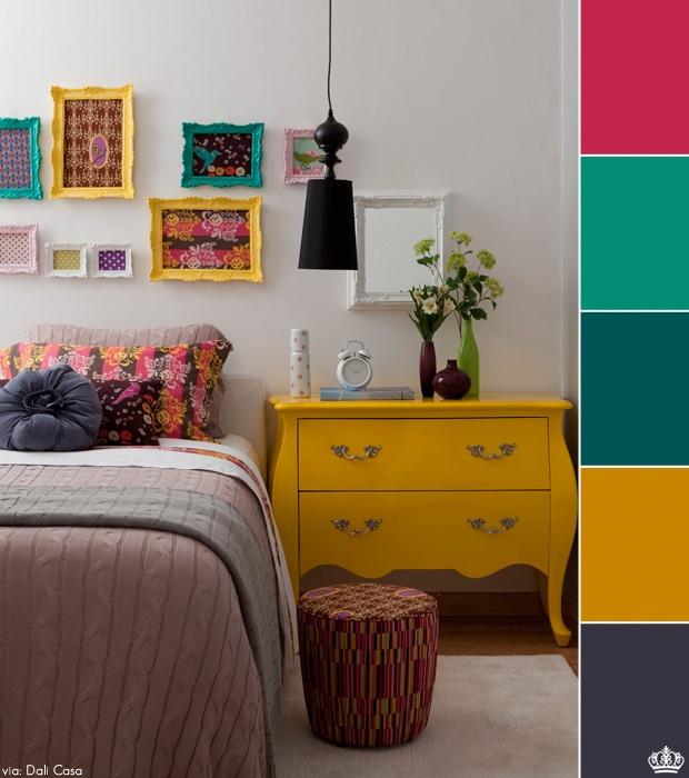 Como usar móveis coloridos 8