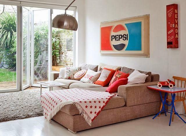 Como usar mantas no sofá 9