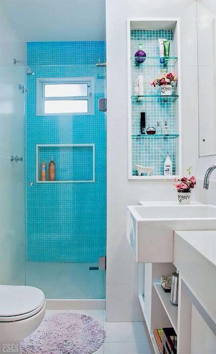 Banheiros pequenos 2