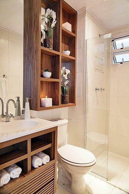 Banheiros pequenos 6