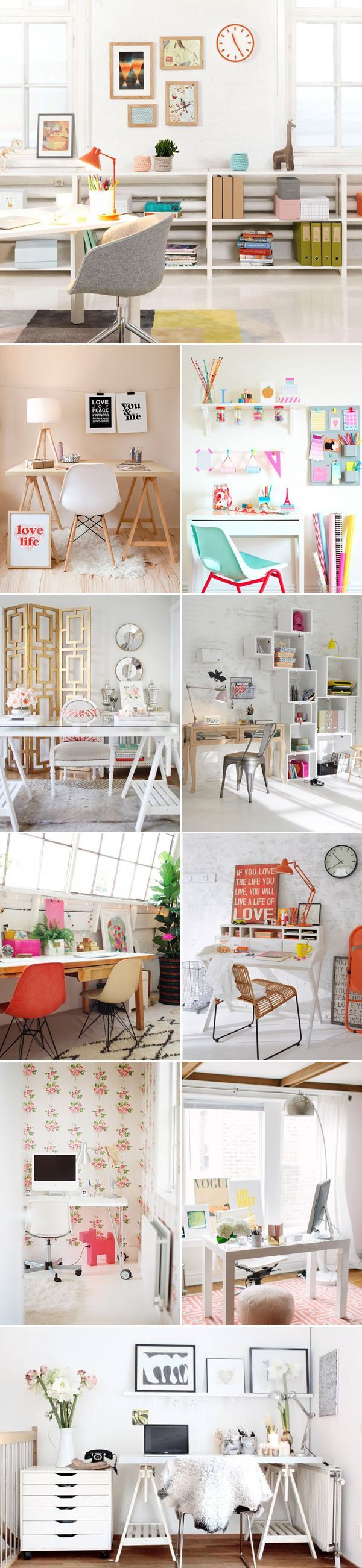 Como decorar o home office 10