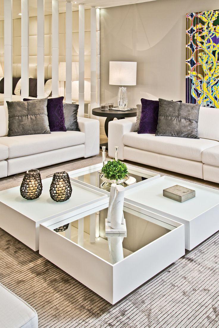 Como escolher e decorar a mesa de centro for Mesas de centro grandes