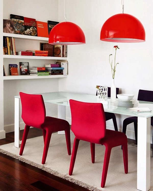 Como usar vermelho na decoração 4