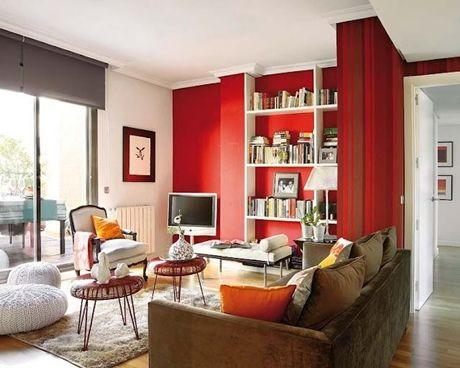 Como usar vermelho na decoração 6