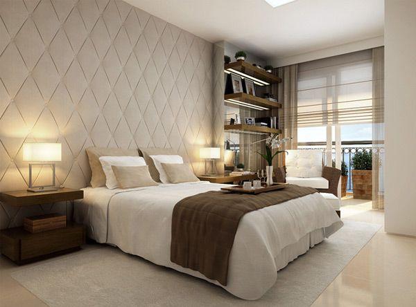 Decoração dos quartos em tons neutros 5