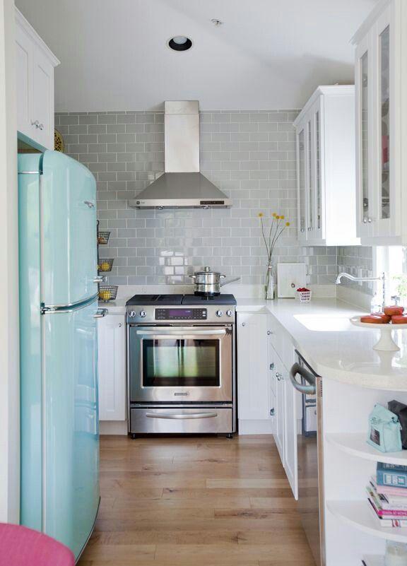 Dicas de decoração para cozinhas pequenas 11