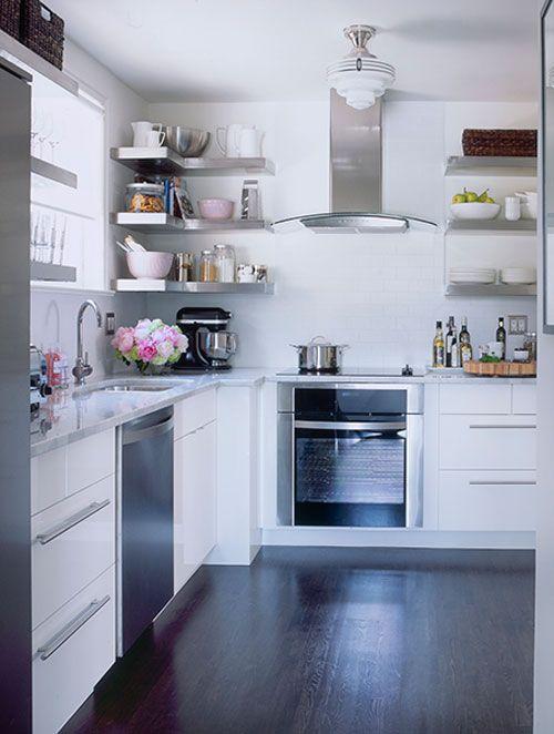 Dicas de decoração para cozinhas pequenas 15